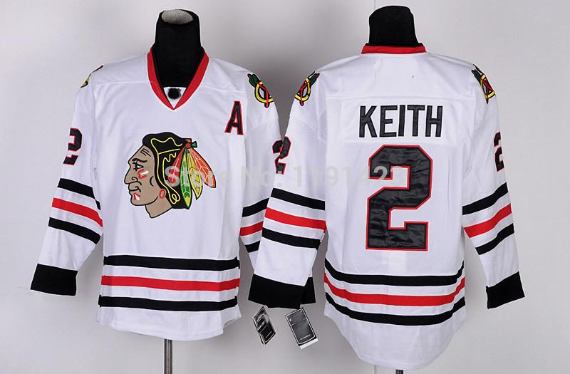 15-Cheap Chicago Blackhawks Hockey Jerseys Duncan Keith Jersey #2 Home Red Road White Third Black Green Stitched Jerseys A Patch_4.jpg