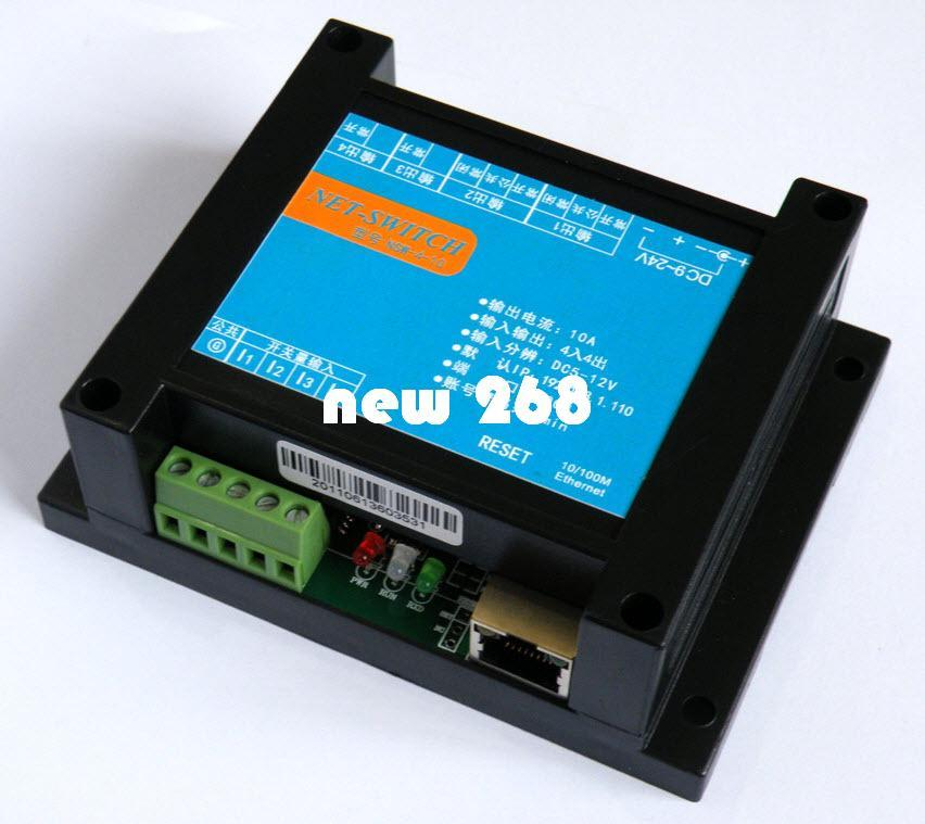 2018 Smart Internet Relay Control Board,Android Wifi Control, Network Relay  Switch 4 Input 4 Output Tcp / Udp From New268, $114 08 | Dhgate Com