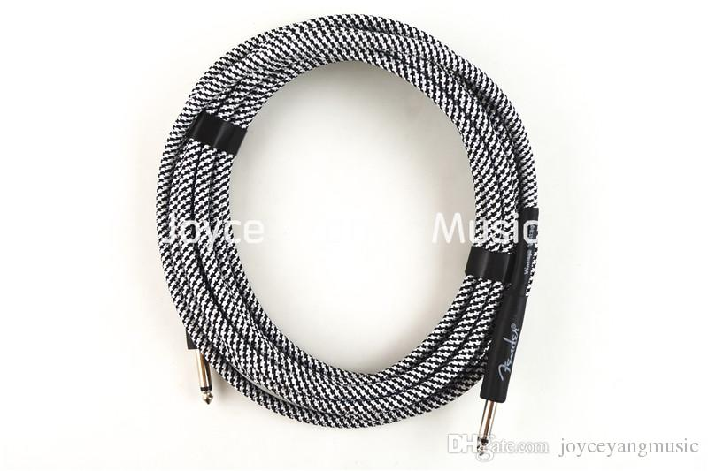 2018 20ft Electric Guitar Cable Amp Lead Cord Amplifier Cable Audio ...