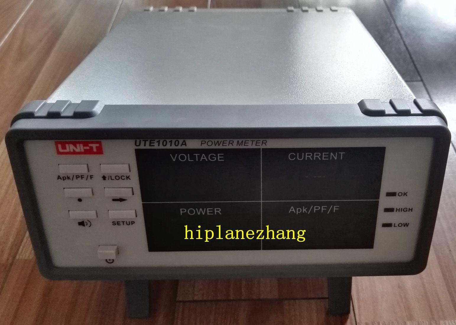 벤치 True RMS 전압 전류 역률 전력계 분석기 3000W UTE1010A