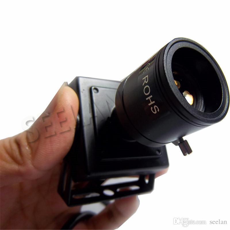 Supporto per videocamera IP mini 720P Supporto ONVIF 2.0 zoom ottico manuale da 2.8-12 mm P2P Plug and Play Con telecamera di sicurezza con staffa