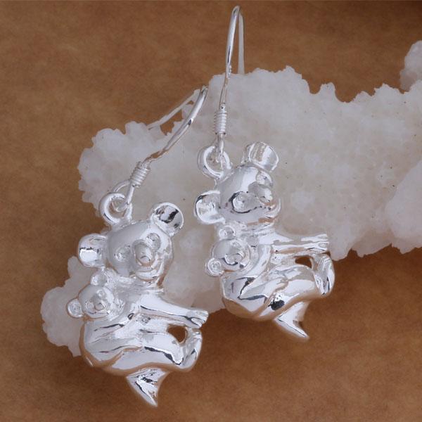 Мода (изготовление ювелирных изделий) 40 шт много кенгуру серьги стерлингового серебра 925 заводская цена мода обуви серьги