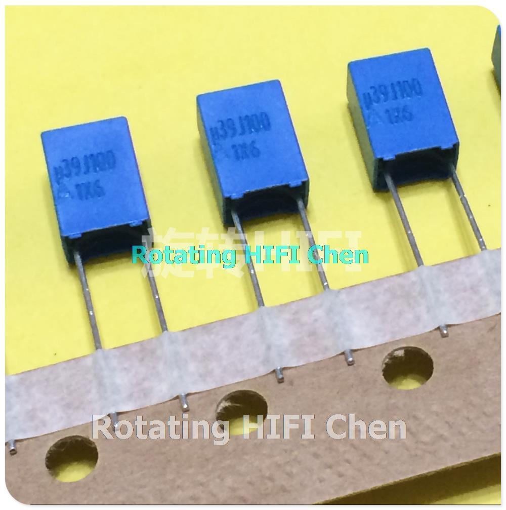 4x pieces  220nF  63v film capacitor 220NR VISHAY BC MKT370–ref 376