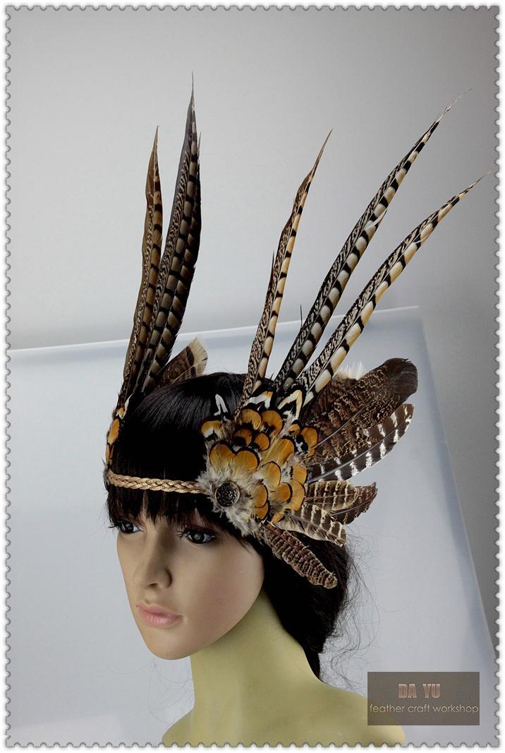 veer hoofdtooi dansen burlesque hoofdtooi halloween hoofdtooi aanbod dansende aanbod 12 inch vol kostuum aanbodveer hoed