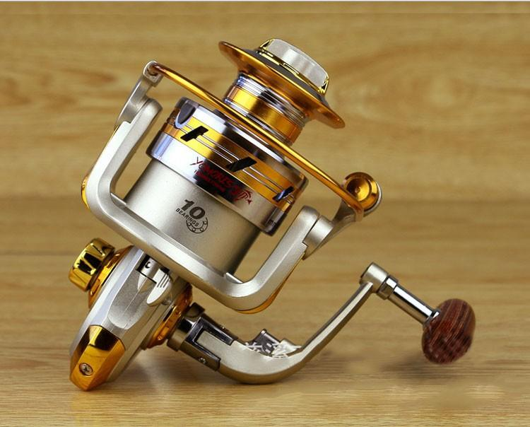 1x Exclusive quality All Metal spinning fishing reel line winder speed ratio 5.11 to Ocean Sea boat Rock Ice fishing tackle (7)