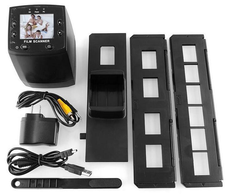 جديد 5MP 35mm سلبيّ فيلم منزلق VIEWER ماسحة USB رقمي لون صورة ناسخة