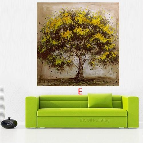 Hand-Made-Oil-Painting-On-Canvas-Tree-Red-Flower-Oil-Painting-Abstract-Modern-Canvas-Wall-Art (4)
