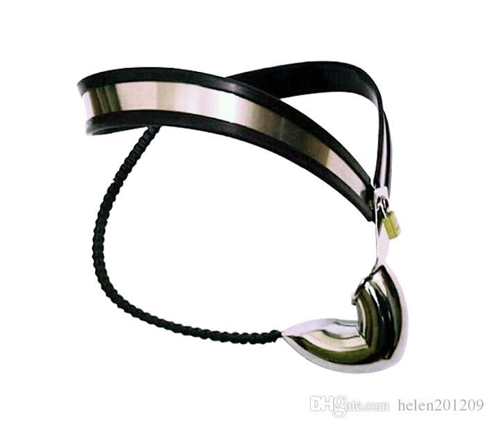 Factory Price Bondage Stainless Steel Male Underwear Chastity Belt For Party Fetish Sex toy Product A180
