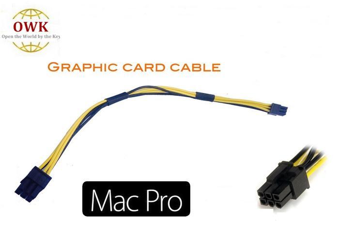 Mac Pro / G5 mini cavo da 6 pin a pci-e 6 pin per scheda video per 4800 4870 quadro4000 FX4