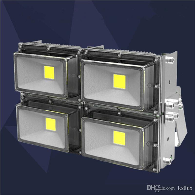 AC85-265V 30W 50W 60W 90W 100W 150W 200W 240W LED Floodlight Outdoor LED Flood light lamp Waterproof Landscape Industrial Project Lighting