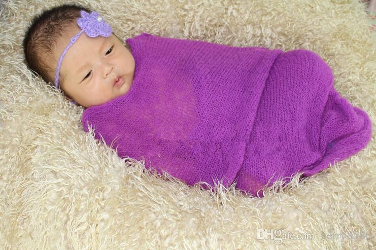 Free crochot pattern baby crochet wrap stretch knit wraps photo prop blankets newborn baby solid photography