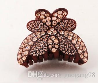 полный красочный Алмаз цветок леди шпилька (8*6.5 см) (400-cn)