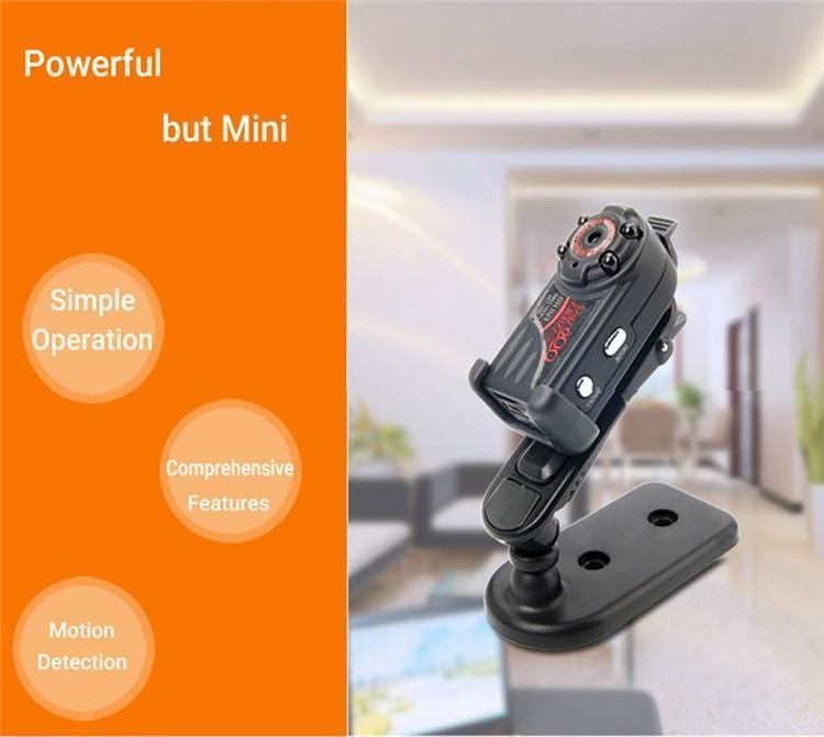 New arrival Smallest Full HD 1080P 720P Mini DV DVR Camera Camcorder IR Night Vision Motion Detect DVR QQ6 MINI DV (3)