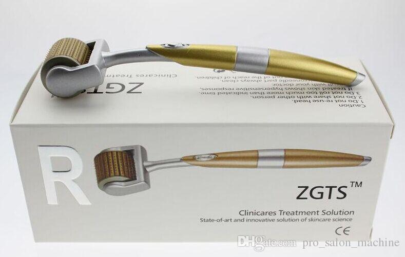 uso Inicio ZGTS Dermaroller de Microneedle Derma Roller micro piel rodillo de agujas de dispositivo de eliminación de cicatrices de acné Care eliminador de arrugas