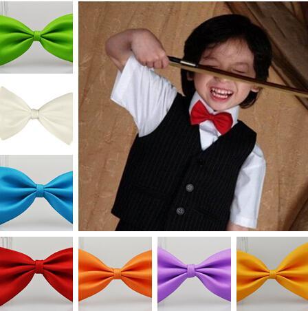 Vendas quentes Maré considerável deve! Gravata infantil bowknot gravatas do bebê gravata 100 pçs / lote