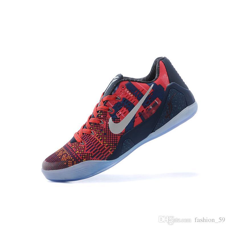Acheter Nike Kobe 9 XDR Basketball Chaussures Femme Retro Sneakers Bon Marché De Qualité Supérieure Kobe Bryant IX D'origine KB9 Chaussures De Course
