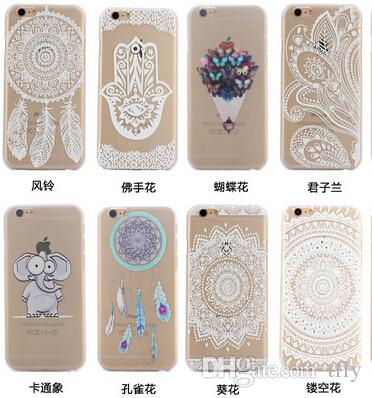 official photos d74fc 633a4 For Iphone 6 6S Plus Case Henna Floral Paisley Flower Mandala Mandara  Plastic Hard Back Cell Phone PC Cases For Iphone 6 5 5G 4 5S 5C Uncommon  Cell ...