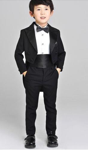 Custom Made Kid/'s 2 Piece Jacket+Pants Wedding Groom Tuxedos Boys Children Suits