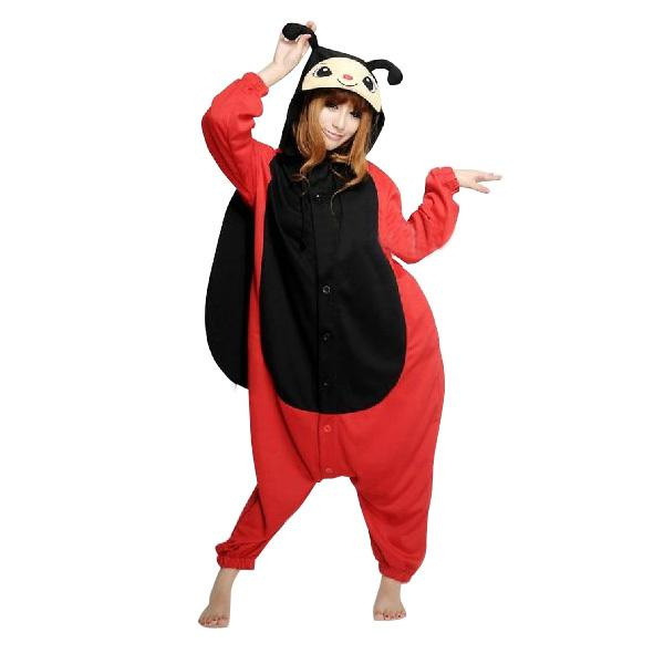 2018 ladybug animal onesies pajamas for adults onesies pyjamas cosplay animal costumes cute onesies kigurumi pyjamas halloween costumes from mr0michael0y