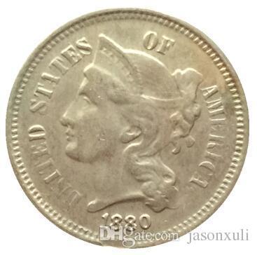1880 3 센트 니켈 복사 동전 FREE SHIPPING