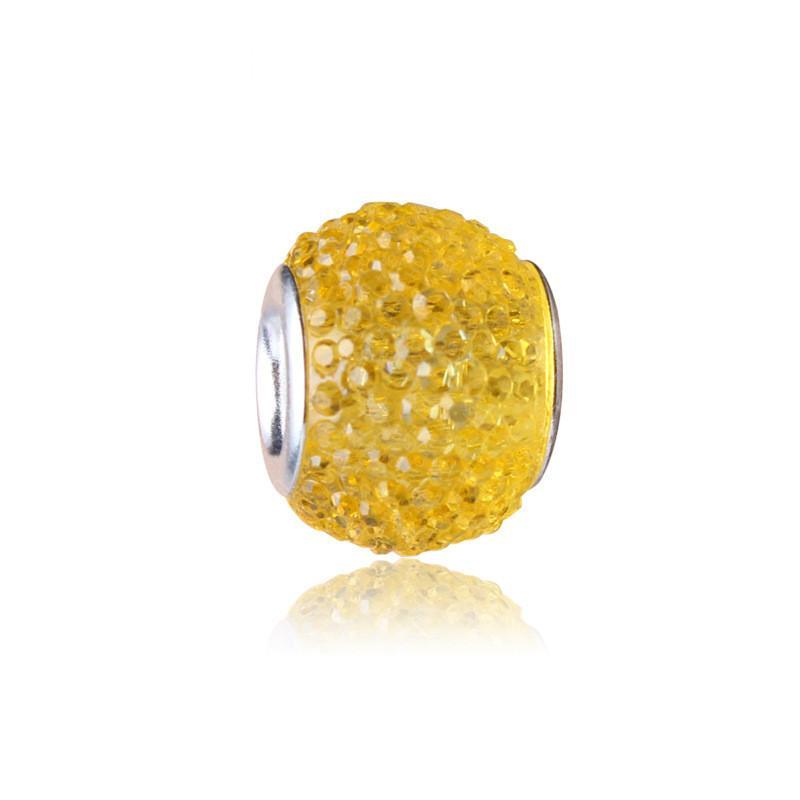 perle pandora jaune
