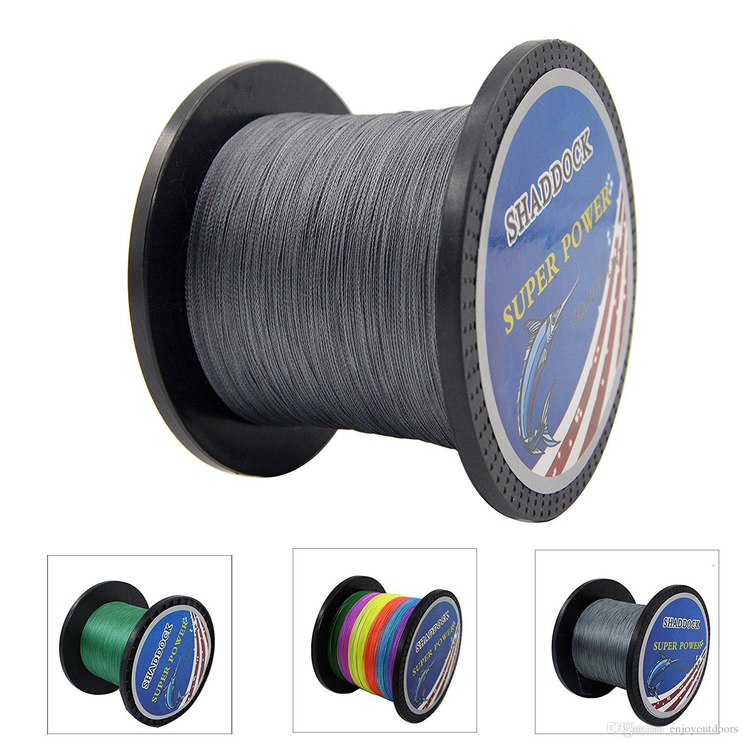 Super Strong Braid Line 30LB 40LB 100% PE Braided Fishing Line 100M 300M 500M 1000M Advanced High-strength Fishing Super line with 4-Strands