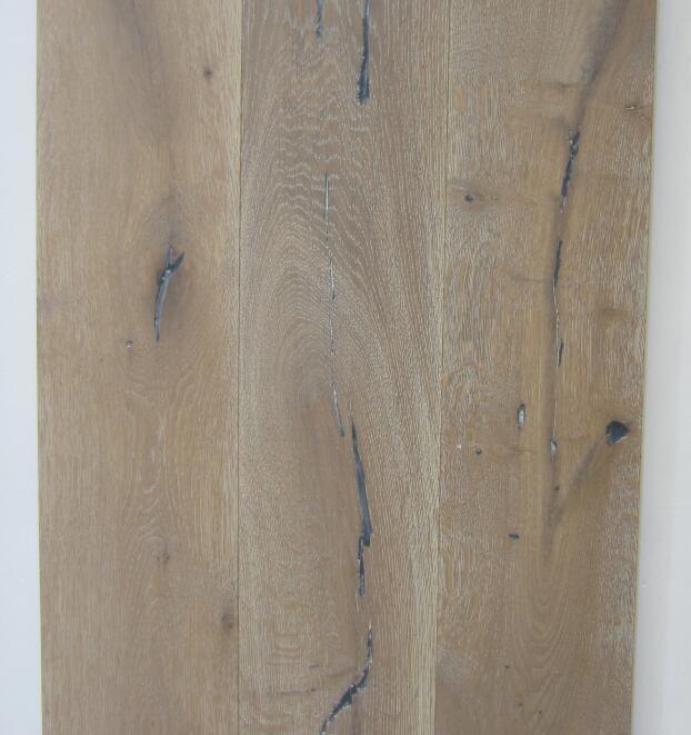 Antique oak wood flooring wood flooring Handscraped01 Large living room floor European style wooden floor Simple wooden floor Old Ship Wood