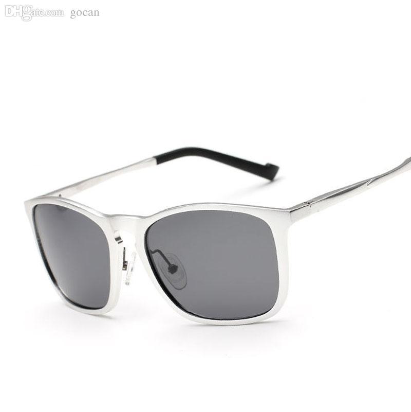 الجملة-الرجال الألومنيوم المستقطب عدسة المستقطبة آل المغنيسيوم ساحة الشمس نظارات القيادة في الهواء الطلق النظارات الشمسية سائق النظارات oculos