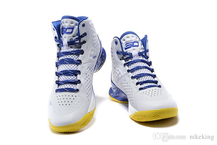 New ,12 Colours USA 30 Stephen Curry One 1 Athletic Basketball Shoes Male Sport Sneaker 41 46 Good Running Shoes Skechers Running Shoes From Nikeking,