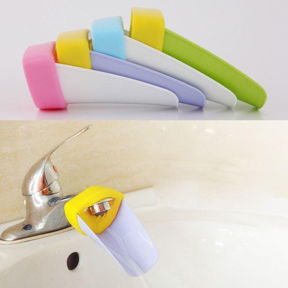 مفيدة البلاستيك دائم صنبور مياه الحنفية موسع للطفل جدي غسل اليد bathroon عشوائيا الحرة الشحن ، dandys