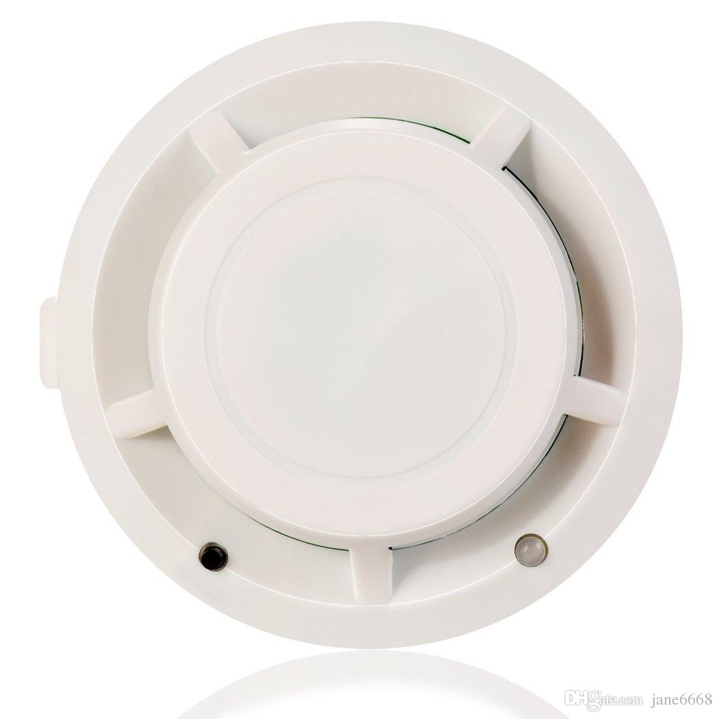 Standalone Photoelectric Smoke Alarm Fire Smoke Detector Sensor Home Security System for Home Kitchen 9V Smoke Alarm Detector and Fire Ale
