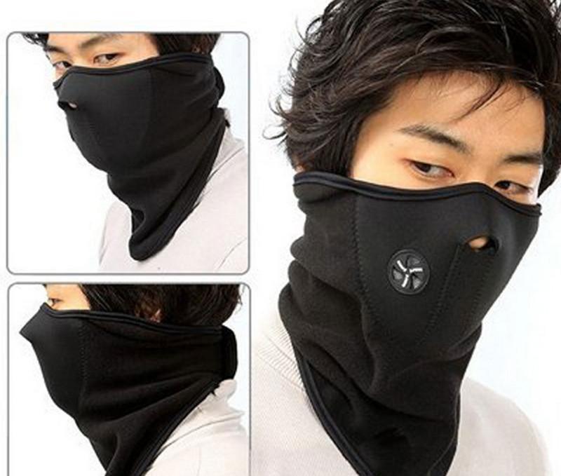 Оптово-неопреновая шея Теплая пол-маска для лица Зимняя спортивная маска Ветрозащитный велосипед Велосипедная велосипедная маска Лыжный сноуборд Маски на открытом воздухе Пыль