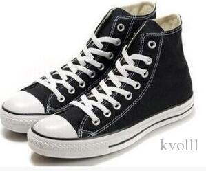 2018 Classic venta caliente Unisex High-Top adultos de lona de los hombres zapatos corrientes 13 colores atados zapatos casuales zapatos de la zapatilla de deporte