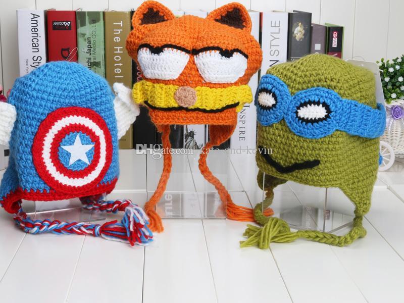Best Handmade Despicable Me Superman Spiderman Batman Knitted ...