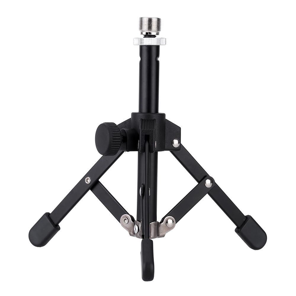High Quality MS-12 Mini Foldable Desktop Tabletop Tripod Microphone Mic Stand Holder