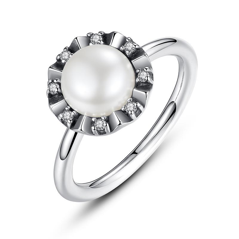 anello pandora con perla