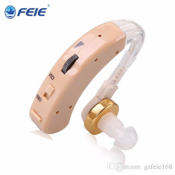 2019 Venta caliente precio muy barato mejor venta de FEIE S-520 BTE analógico para audífonos para ancianos sordos auxiliares inalámbricos amplificadores para audífonos