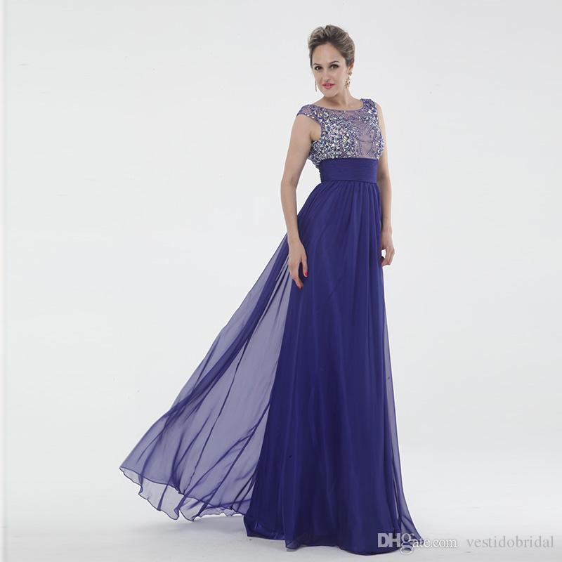 Compre Muchos Colorean Prom Vestidos Cintura Del Imperio Embarazada Top Francia Del Banquete De Boda De La Gasa Del Vestido De Los Vestidos De Noche