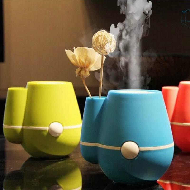 2018 Creative Mini Vase Humidifier Clean Air Humidifier Ultra Quiet