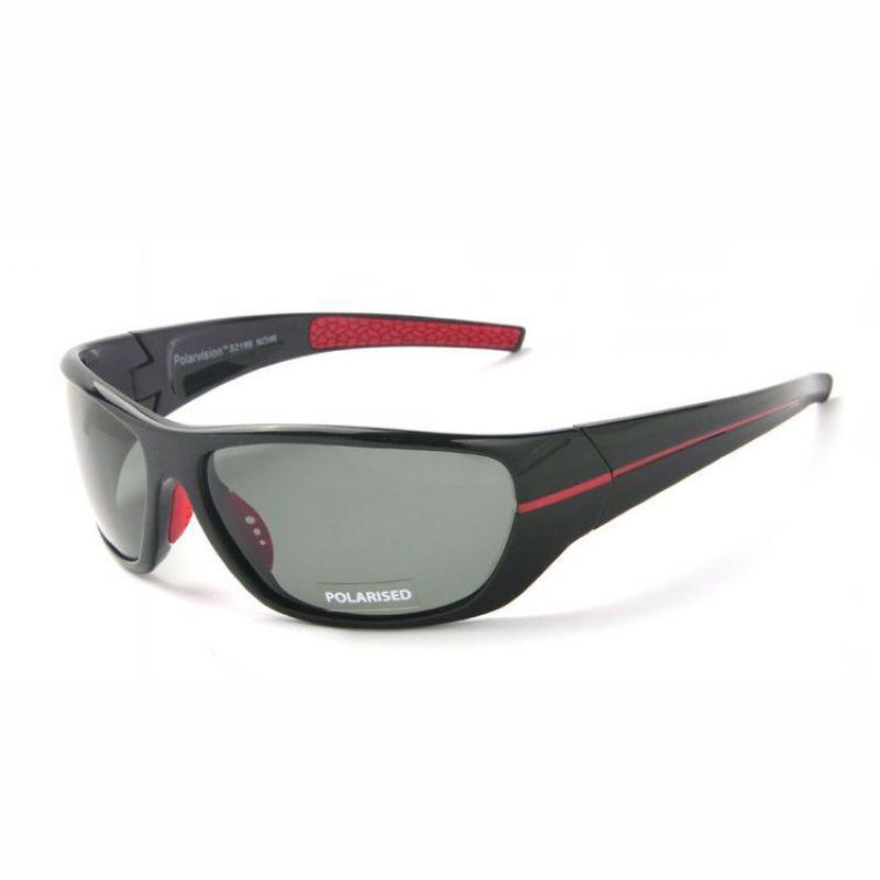 偏光スポーツサングラスフレームのラップ周りフレームTACグレイレンズメンズ運転/釣り/ゴルフ/野球サンメイアイウェア