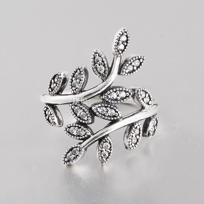 حقيقي 925 فضة حلقة مجوهرات حفل زفاف حلقة مع ستون الخرز صالح باندورا مجوهرات للنساء بالجملة RIP025