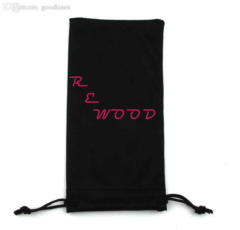 الجملة-متعددة الوظائف نظارات القضية / حقيبة تنظيف الحقيبة تعزيز هدية ستوكات نظارات الحقيبة حقيبة لمكبرة خشبية