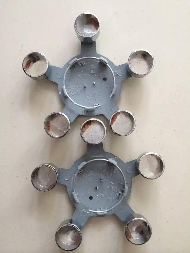 High quality 4Pcs/LDiameter 135mm 5 finger Wheel Center Cap Car Emblem Rim Cap for European Vehicles A* series