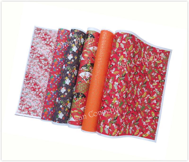 Livraison gratuite DIY japonais Washi papier pour artisanat origami scrapbook décoration emballage - 42 x 58 cm 30pcs / lot LA0071 gros