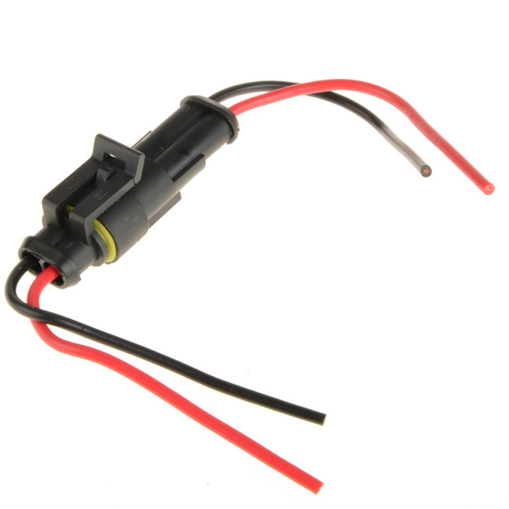... Hot sale 2 Pin Electrical Wire Connector Plug Motorcycle Car Marine  PHACC G0179 W0.5 ...