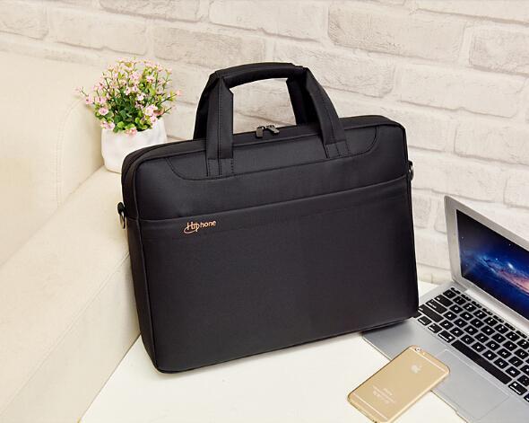 cc8d5ba7aaec Strong Waterproof Laptop Bag With Pockets 15.6 Inch Computer Bag For Men  Women,High Qulity Nylon Laptop Bags For HP Black Men Women Bag Case Canada  ...