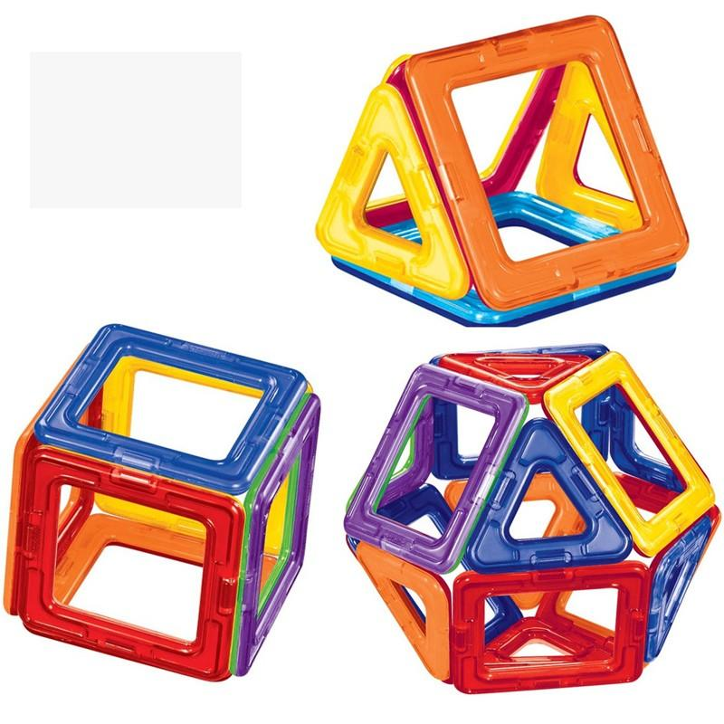 Kids Toys Educational Magformers 2436 PCS Magnetic Toy 3D DIY Building Blocks ABS Plastic Blocks Toys For Baby Christmas Gift (3)