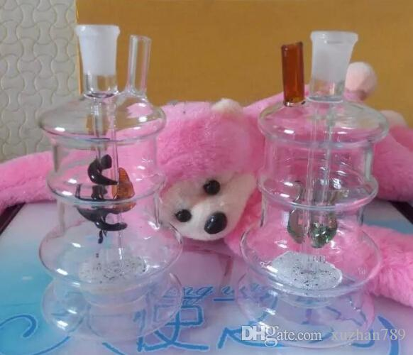 5pcs Free shipping all over the world glass water pipes fittings tower glass water pipes