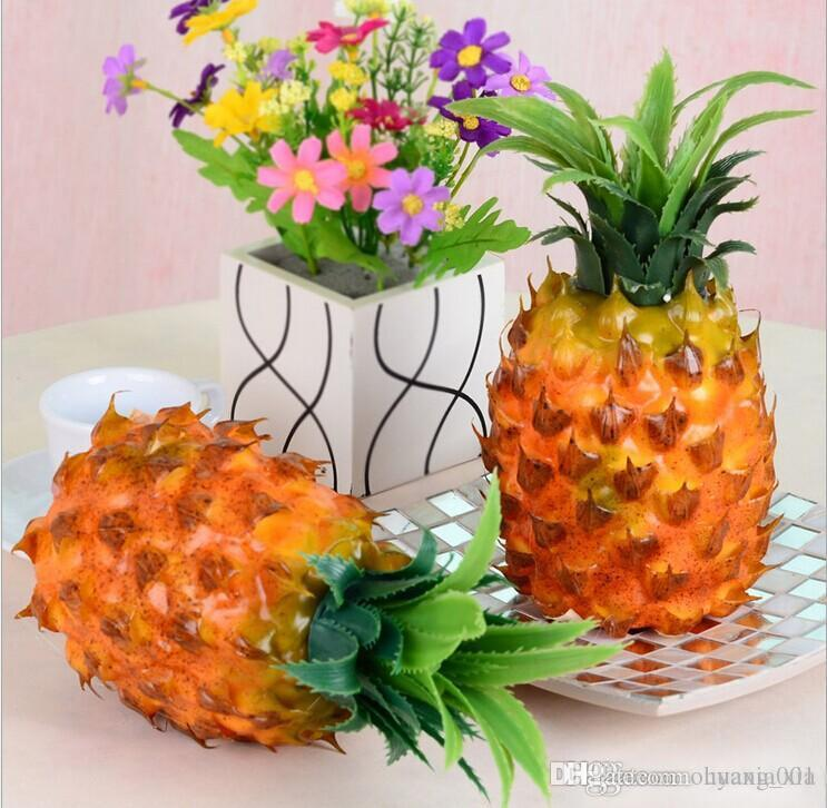 Grosshandel Knstliche Faux Ananas Grosse Grsse 25x12cm Plastik Simulation Frchte Fr Die Dekoration Wohnzimmer Einrichtung Wohnkultur Von Ouyang Xia
