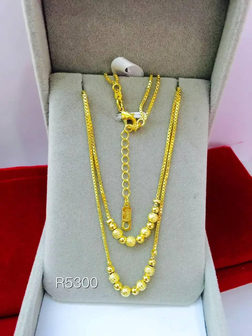 24k gold filled necklace Women Necklace free shipping